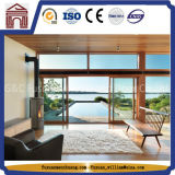 Models Waterproof Movable Painted Glass Wardrobe Sliding Door