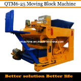 Moving Concrete Block Making Machines for Sale Qtm6-25 Dongyue Machinery Group