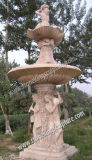 Hand Carved Marble Fountain for Garden Decoration