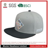 Gray Cotton Twill Snapback Hat for Adult Size