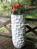 Fo-305 Decoration Indoor Fiberglass Flower Pot