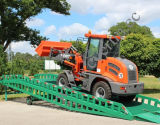 Everun CE Certificated Articulated Small Wheel Loader