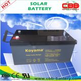 Long Cycle Life 12V 260ah Deep Cycle AGM Storage Battery