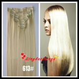 100% Peruvian Virgin Remy Clips Hair Extension