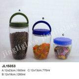 Unique Design Storage Glass Jar/ Glass Jar