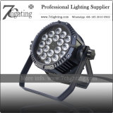 Waterproof LED PAR Wash Light 18X18W UV RGBWA Lighting Outdoor Event Building Stage Use