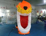 Inflatable Model Tiger. Cartoon Figurine. Christmas Cartoons