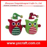 Christmas Decoration (ZY14Y562-1-2 15CM) Christmas Owl Wall Covering