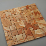 Colorful Onyx Mosaic, Square Marble Stone, Wall Tile