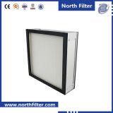 Clean Room Mini-Pleat Panel Filter H13 HEPA