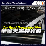 High Glossy Black Car Roof Protective Film, Car Wrap Vinyl Film, Car Roof Film for Wrapping 3 Layers