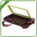 Hot Sale Fancy Clear Plastic Hinged Lid Chocolate Boxes