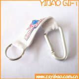 Custom Short Ribbon with Carabiner Hook Attach (YB-LY-09)