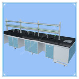 Chemical-Resistance All Steel Lab Central Bench Equipment