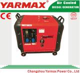 Diesel Electric Generator Set 5kVA 5000W with Yarmax Diesel Engine Soundproof Stock Price