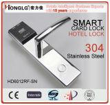 Stainless Steel Smart Hotel Card Lock (HD6012)