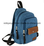 High Quality Canvas Casual Outdoor Shopping Shoulder Backpack Bag (CY9839)