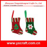 Christmas Decoration (ZY16Y098-1-2 16.5CM) Christmas Sock Type