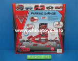 New Item Plastic Toy Track Car with Parking Lot (9125123)