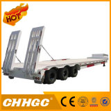CCC ISO Approved 3axle Low Flatbed Cargo Semi-Trailer