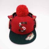 Children's Unique Winter Hat with Big Pompom on Top (ACEW112)
