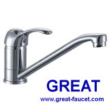 Single Lever Deck-Mounted Kitchen Faucet