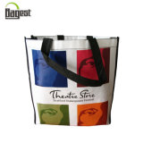 80GSM Grocery Foldable Promotional Non Woven Tote Bag for Shopping