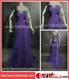 2014 Purple Crystals Long Party Evening Prom Dress (AS5227)