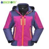 3 in 1 Outdoor Jacket with Waterproof Zipper for Women
