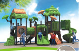 2015 Hot Selling Outdoor Playground Slide with GS and TUV Certificate QQ14016-1