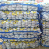 Normal White Garlic Packed with 3p in 10kg Mesh Bag