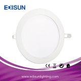 Round Type Recessed 6W 9W 12W 15W 18W 24W 30W LED Panel Light with Ce Certificate