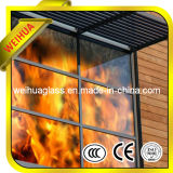 6-12mm Clear Fireproof Glass / Anti-Fire Glass Door with CE / ISO9001 / SGS / CCC