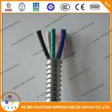 2 Core 3 Core Thhn Core Galvanized Aluminum Alloy Tape Armored Power Cable