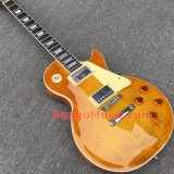 Pango Lp Standard Electric Guitar with Flame Maple Top (PLP-049)