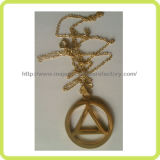 Gold Plating & Cut out Pendant Customized