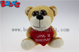 Valentine Gifts Big Eyes Toy Series Plush Bear with Heart Pillow