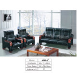 1+1+3/Office Furniture /Leather Sofa/Modern Sofa /Office Sofa Sets (6388#)