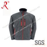 Soft Shell&Polar Fleece Jacket with Stand Collar (QF-412)