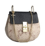 Latest Design High Quality Small Real Leather Evening Bags for Ladies