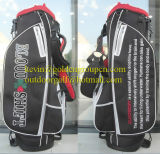 Custom PU Leather Golf Stand Bag