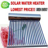 Pressurized Heat Pipe Vacuum Tube Solar Collector Hot Water Heater