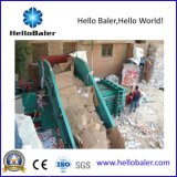 Hello Baler Horizontal Waste Paper Baling Machine with New Conveyor
