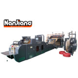 Flat Handle Paper Carry Bag Making Machine WFD-430B
