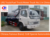 4X2 3cbm 5cbm Cleaning Tanker Dongfeng Sewage Suction Truck