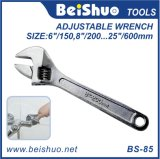 Full Size Metal Adjustable Wrench Spanner Household Hand Tool