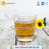 Promotional Round Clear Glass Wine Whiskey Cup