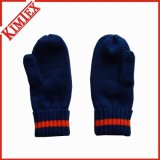 Promotional Unisex Winter Acrylic Knitted Mittens