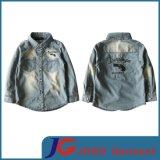 Factory Wholesale Denim Shirt for Kids (JT8020)