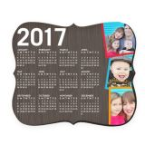 2017 Hot Selling New Customized Hard Top Calendar Mouse Pad